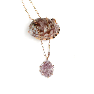 Lepidolite Necklace