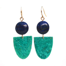 Load image into Gallery viewer, Mini Ballroom Patina Earrings