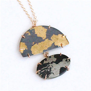 Lunar Half Dome Necklace