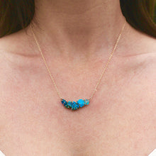 Load image into Gallery viewer, Blue Ayse Necklace