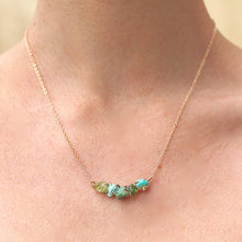 Load image into Gallery viewer, Green Ayse Necklace