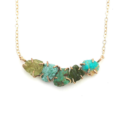 Green Ayse Necklace