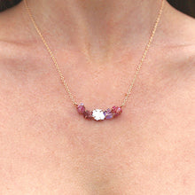 Load image into Gallery viewer, Pink Ayse Necklace
