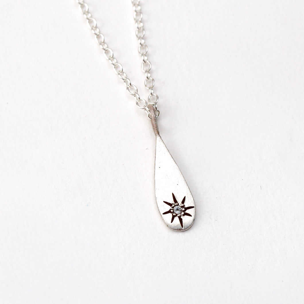 North Star Drop Necklace
