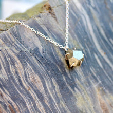 Load image into Gallery viewer, Raw Pyrite Necklace