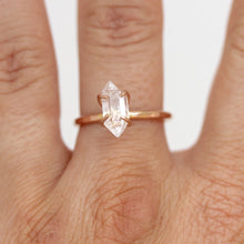 Load image into Gallery viewer, Herkimer Diamond Stacker Ring