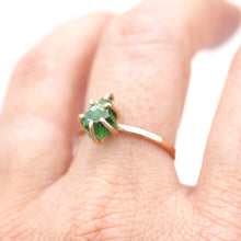 Load image into Gallery viewer, Raw Chrome Diopside Stacker Ring