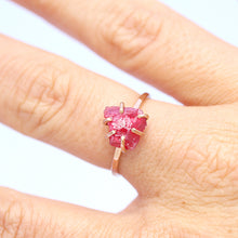 Load image into Gallery viewer, Raw Spinel Stacker Ring