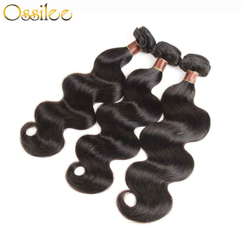 6x6 Lace Closure With Hair Bundles New Arrival Brazilian Body Wave With 6x6 Lace Closure - Ossilee Hair