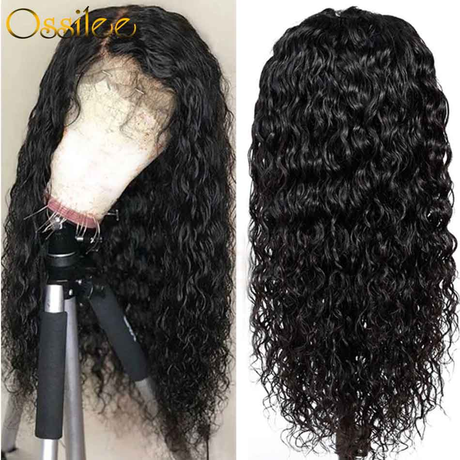 9A Grade Brazilian Full Lace Wig 180% Density Water Wave Full Lace Wig - Ossilee Hair