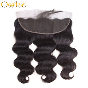 13x4 Pre-plucked Lace Frontal Body Wave no shedding no tanggle - Ossilee Hair