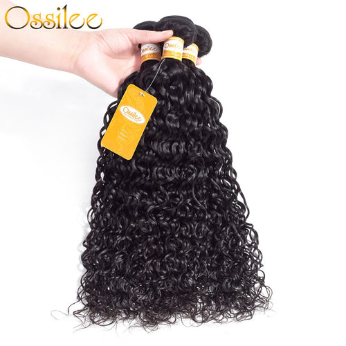 Brazilian Water Wave 3 Bundles 9A Grade Water Wave High Quality - Ossilee Hair