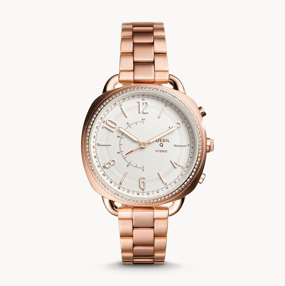 Hybrid Smartwatch Accomplice Rose-Gold-Tone Stainless Steel WATCHES FOSSIL Q urtiden-dk.myshopify.com [variant_title]