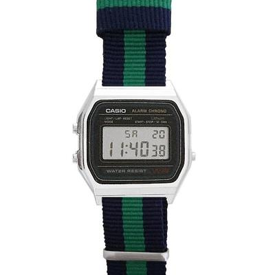 CASIO watch -A158W-NATO_Q- | Endlesstime24.com