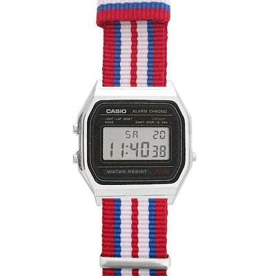 CASIO watch -A158W-NATO_T- | Endlesstime24.com