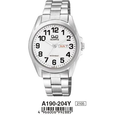 Q&Q watch -A190-204Y- | Endlesstime24.com