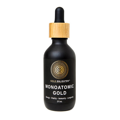 GoldEnlighten® - GoldEnlighten - Monoatomic Gold Ormus (Size: 2 oz.)