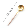 GoldEnlighten® - 5Pcs/Set Stainless Steel Mini Teaspoon Set - Rose and Gold