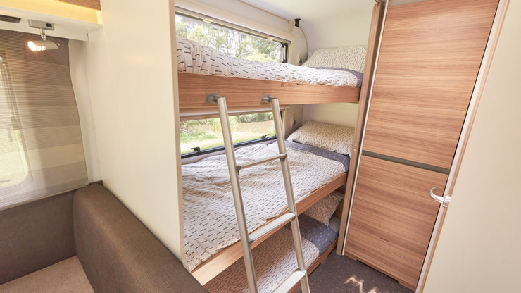5 Star Light Weight ADRIA ALTEA 552 Triple Bunk Caravan - Brisbane