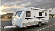 5 Star Light Weight ADRIA ALTEA Double Bunk Caravan - Brisbane