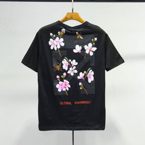 OFF WHITE Cherry Blossoms T-SHIRT