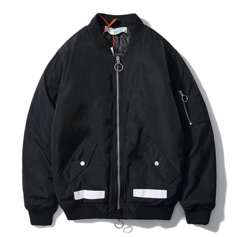 OFF WHITE BOMBER JACKET
