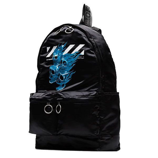 Off White Skull Backpack