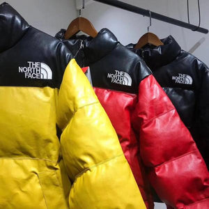 Supreme x TNF Leather Jacket