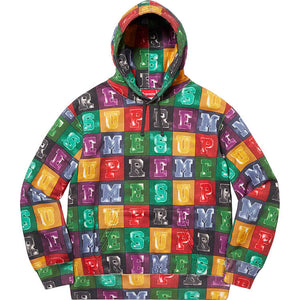 Supreme Blocks Hooded Sweatshirt