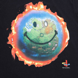 Travis Scott Fortnite World Happy Face T Shirt