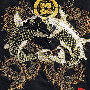 Embroidery Fish T-Shirt
