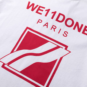 WE11DONE Paris T-Shirt