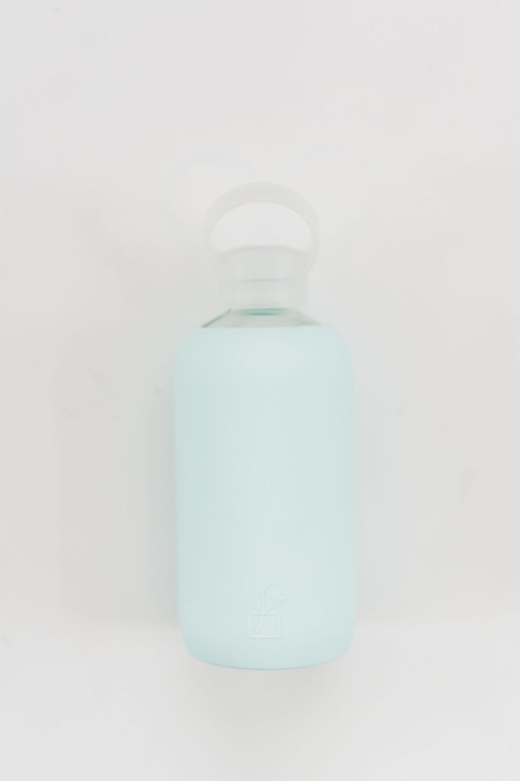 Glass and Silicone Water Bottle