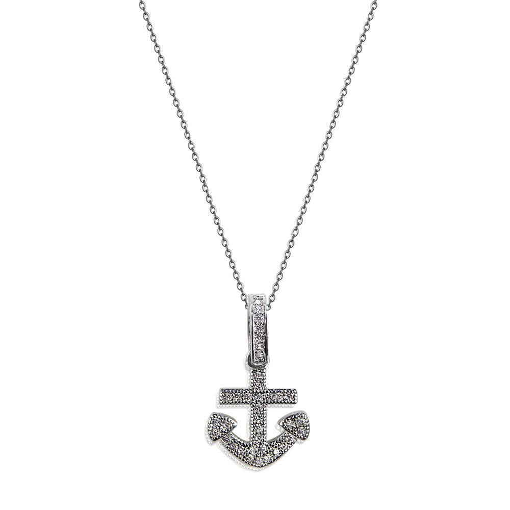 Anchor Necklace-Women - Jewelry - Necklaces-Island Infinity