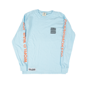Light Blue Album Cover Long Sleeve