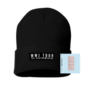 Black WWJ Tour Beanie + Digital Album