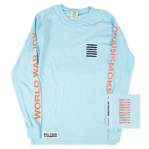 Light Blue Album Cover Long Sleeve + Digital Album