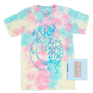 WWJ Tie Dye Tee + Digital Album