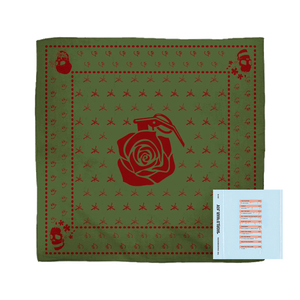 Green WWJ Bandana + Digital Album