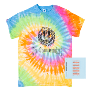 WWJ Rainbow Swirl Tee + Digital Album