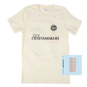 The Chainsmokers Tour Tee + Digital Album