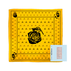 Yellow WWJ Bandana + Digital Album