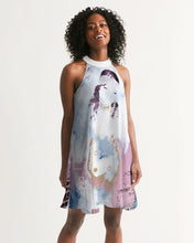 Load image into Gallery viewer, Divided Consciousness Halter Dress Women's Halter Dress