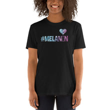 Load image into Gallery viewer, #Melanin Love Short-Sleeve Unisex T-Shirt