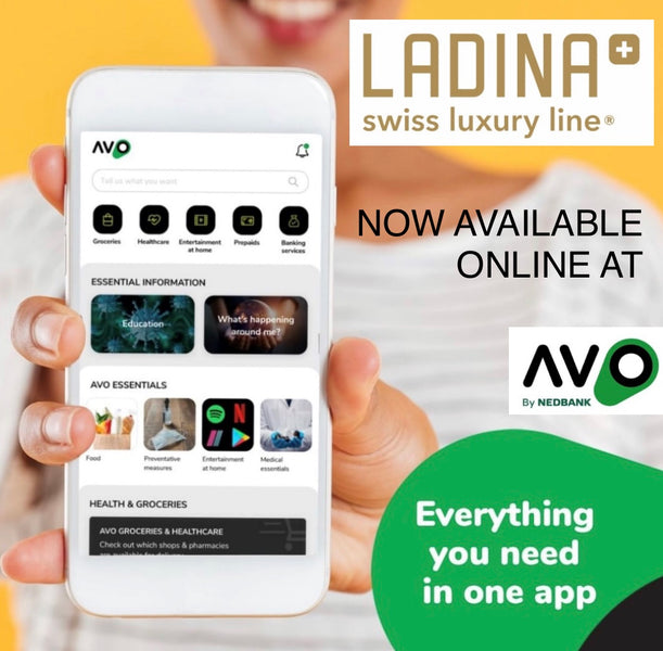 The Ladina cookware range is now available on Nedbank's AVO mobile App.
