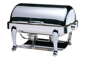 RECTANGULAR ROLL TOP CHAFER 8LT EURI RANGE
