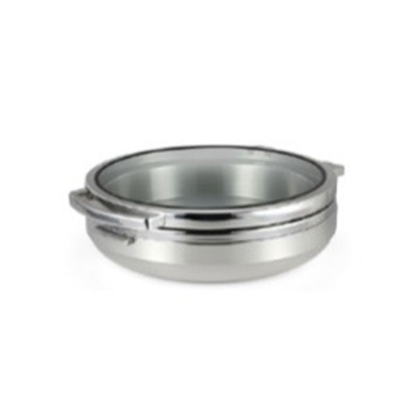 CHAFING DISH ROUND STAINLESS STEEL 6.0LT