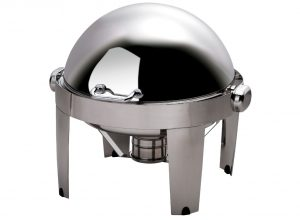 ROUND ROLL TOP CHAFER  6.5LT IBIS RANGE
