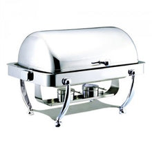 Load image into Gallery viewer, RECTANGULAR ROLLTOP CHAFER CLASSIC DESIGN INFINITI