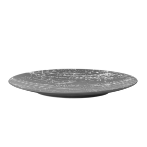 Drizzle Round plate - Grey 21cm (12)